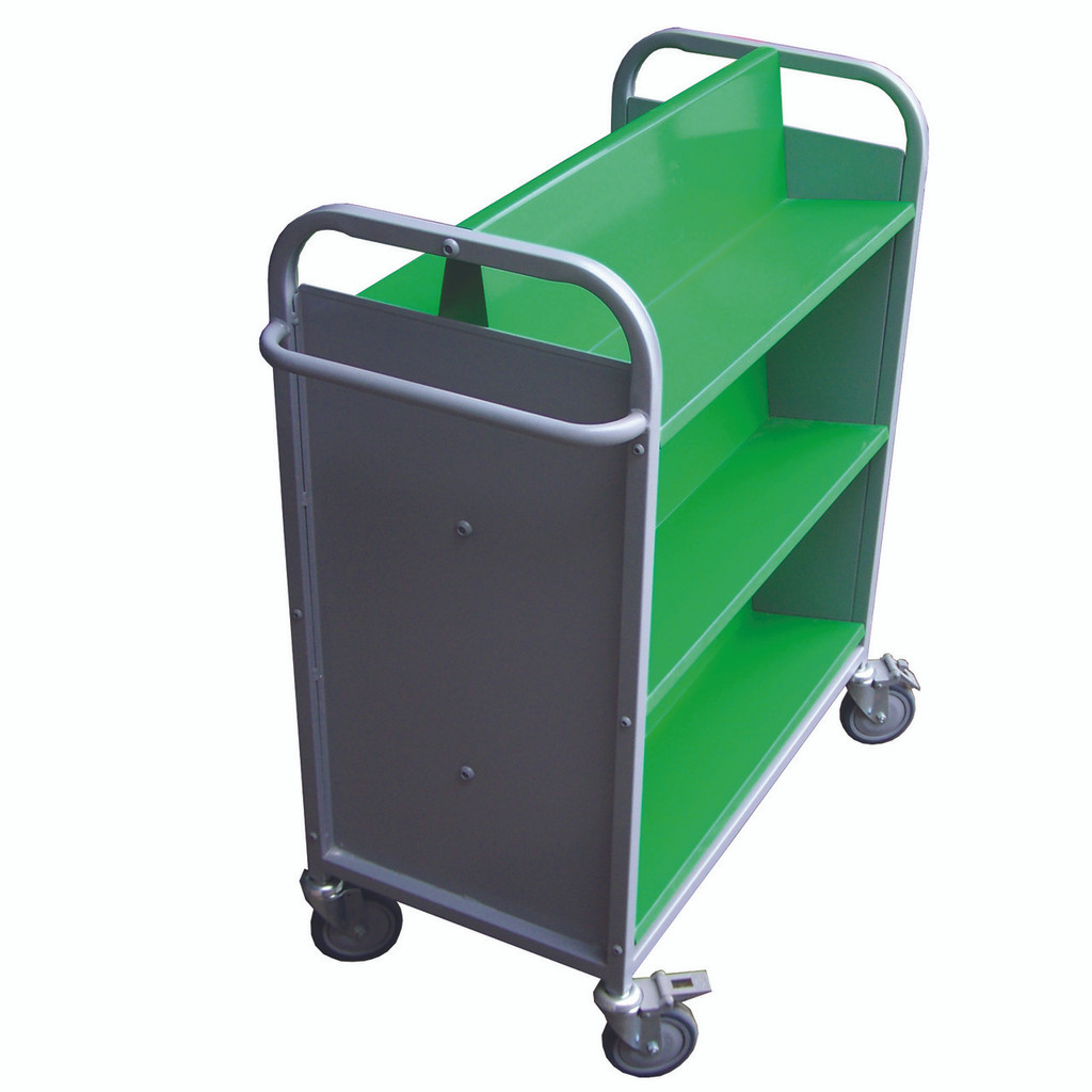Double Sided Steel Trolley