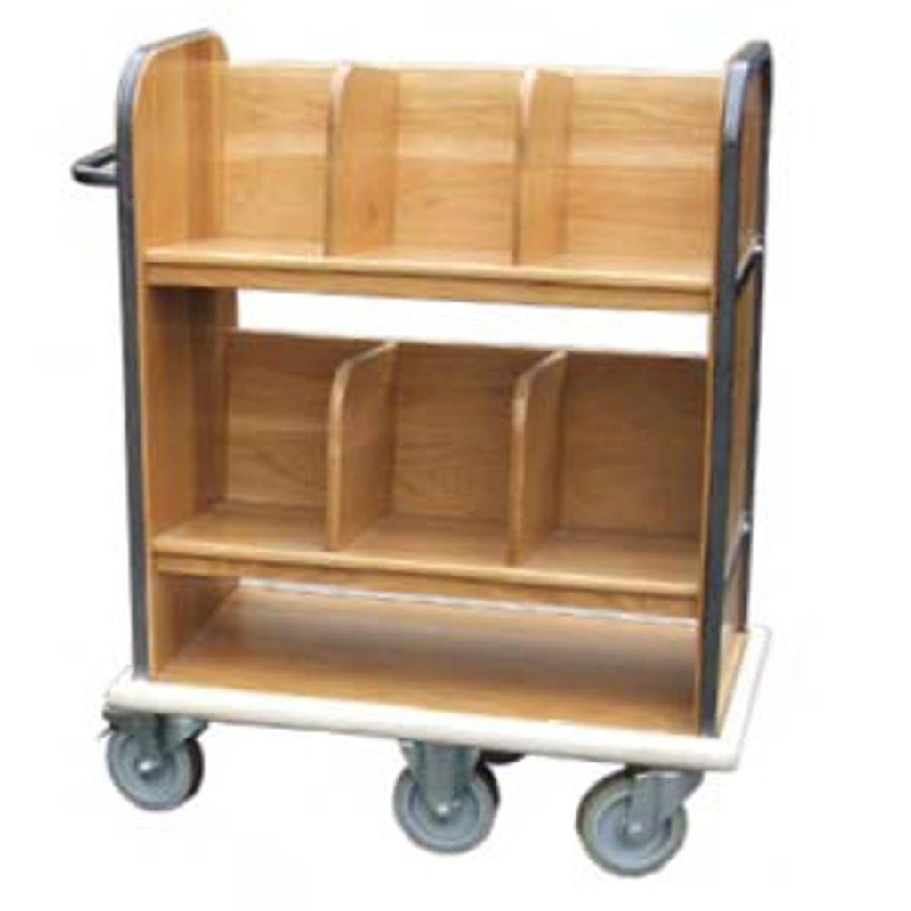 Bespoke Solid Oak Trolley