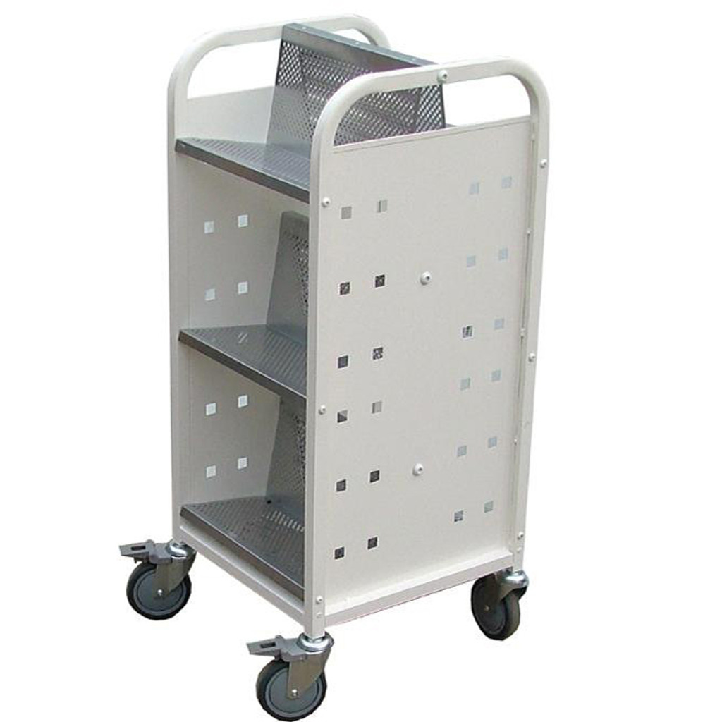 Deskside Aluminium trolley