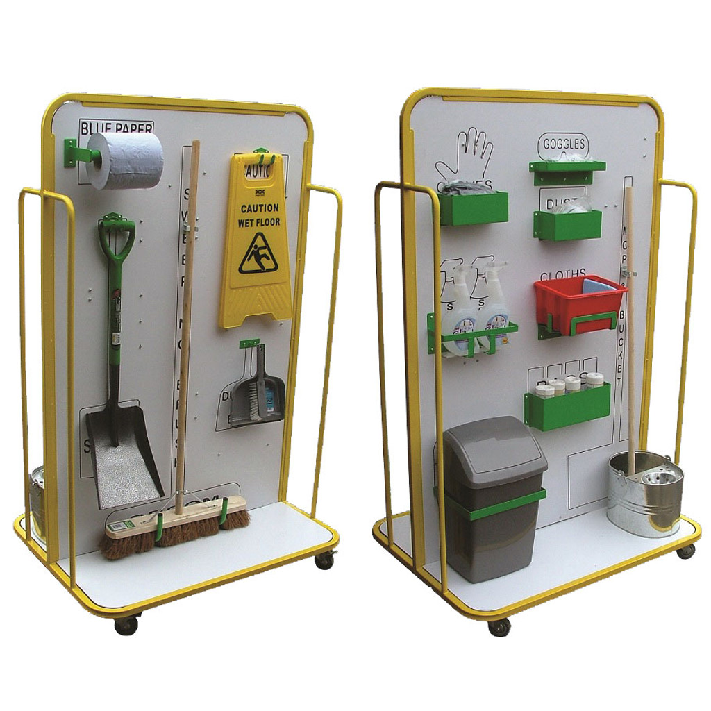 Double sided Cleaning Station