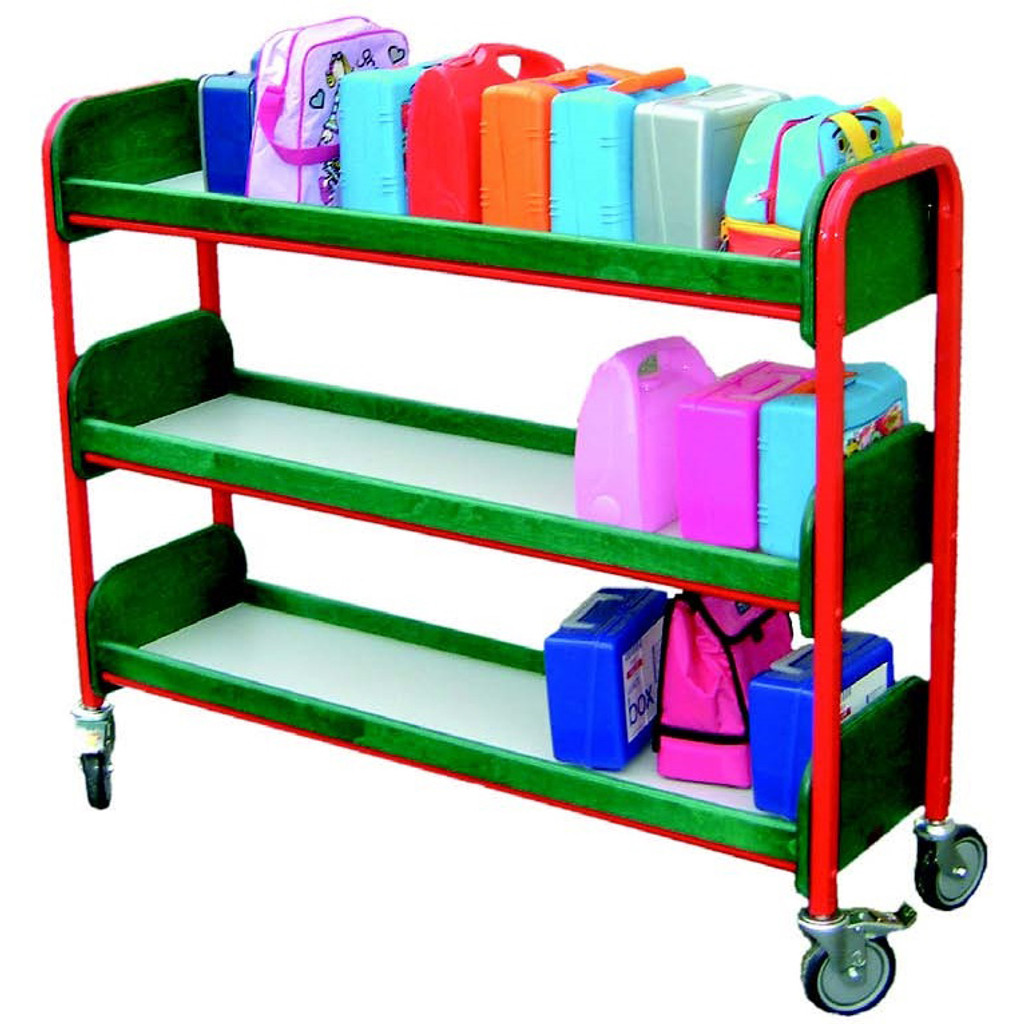 Best seller Single Lunchbox 3 Tier Trolley