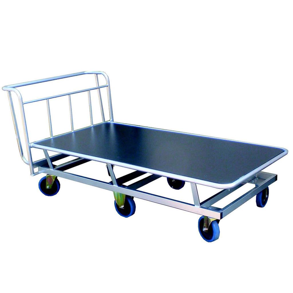 Flatbed sports trolley