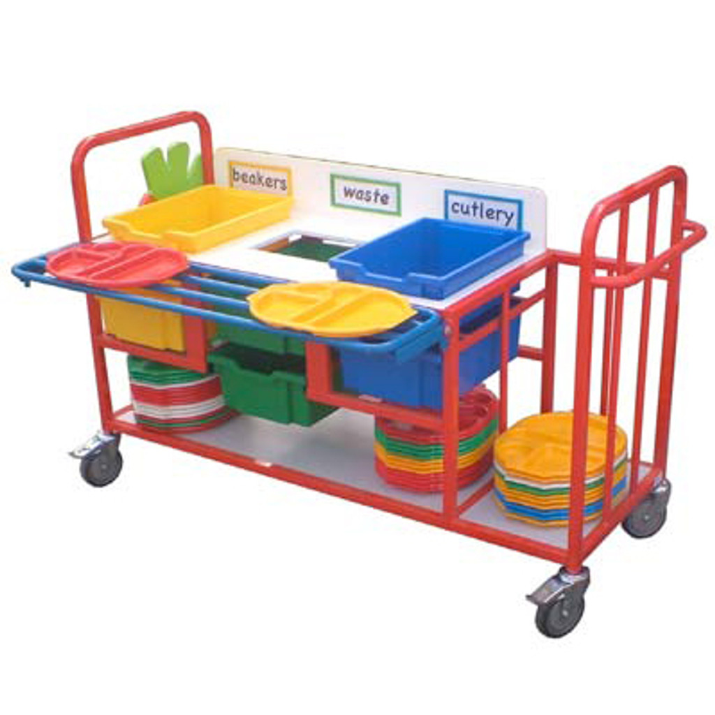 clearing Trolley With Trayslide