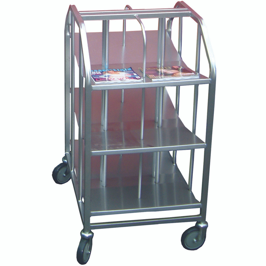 Compact Magazine Trolley
