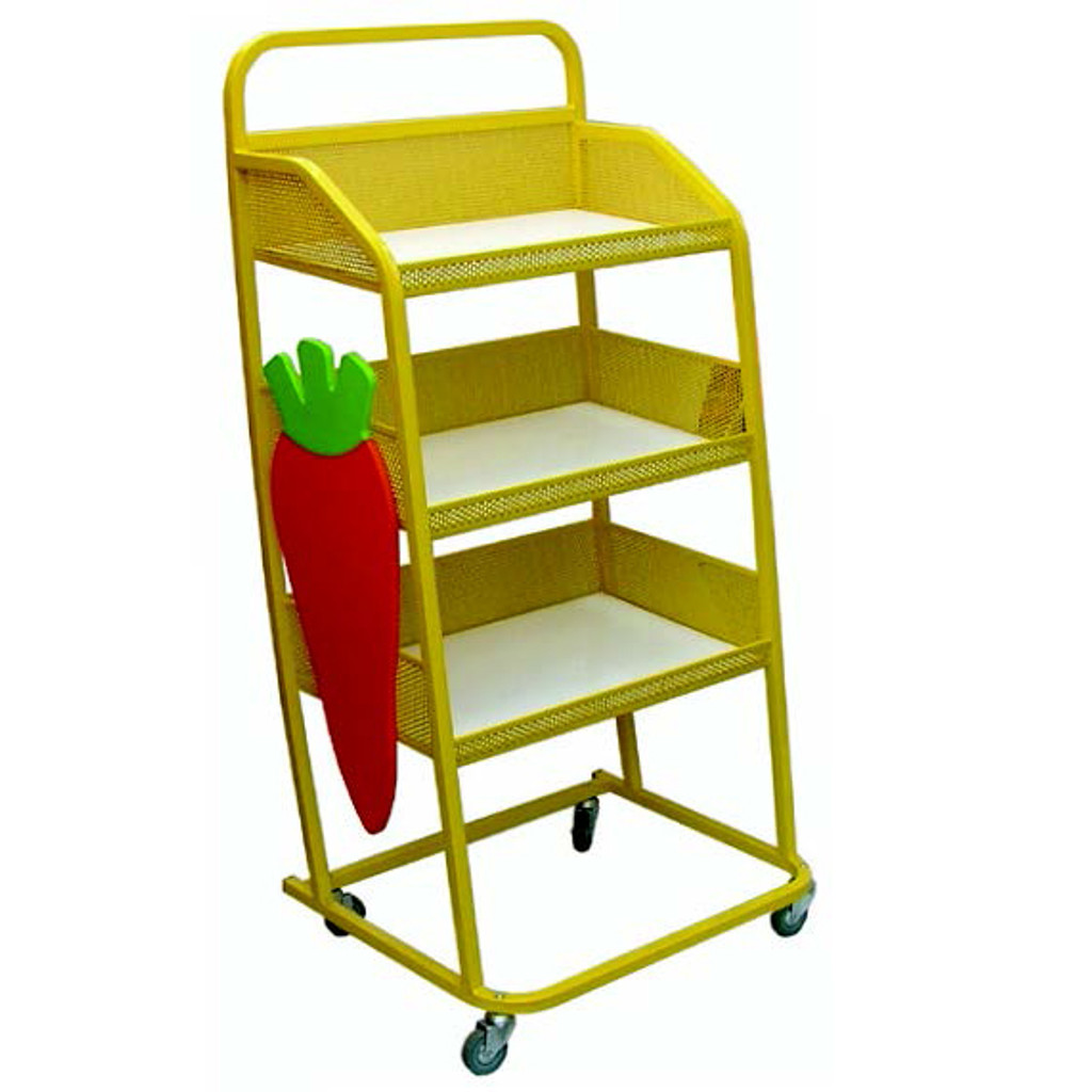 Sandwich Display Trolley (8BRCN)