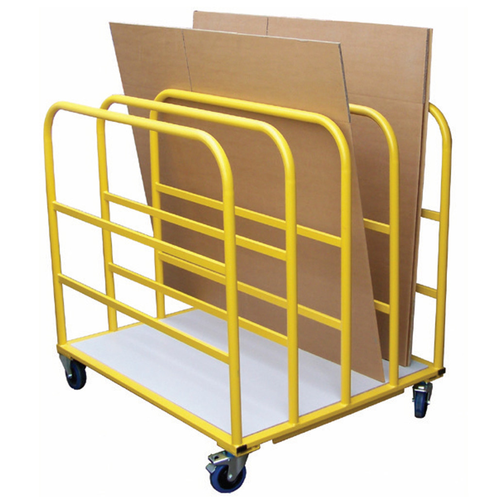 Divider Trolley for cardboard or wooden sheets.