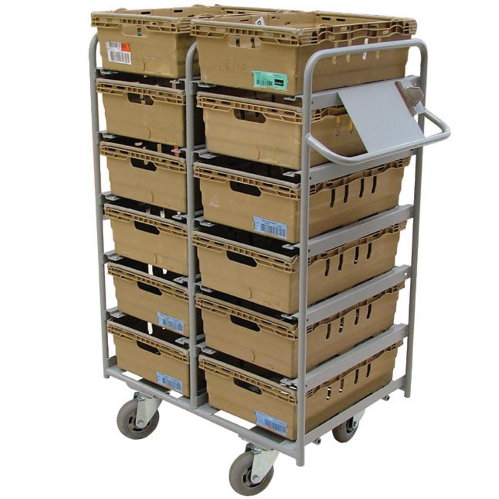 12 Box Aluminium Pick Trolley (BXAC12)