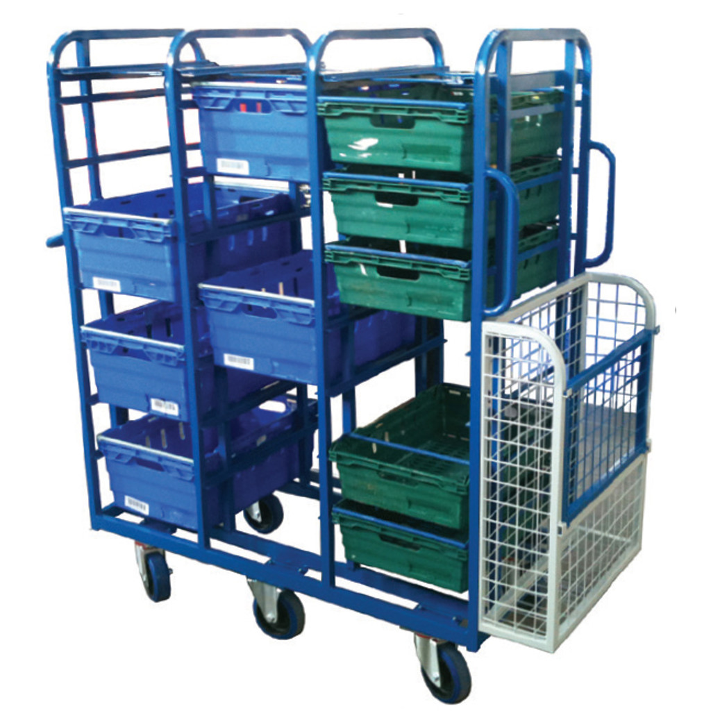Aluminium Box Trolley (BXSC4)