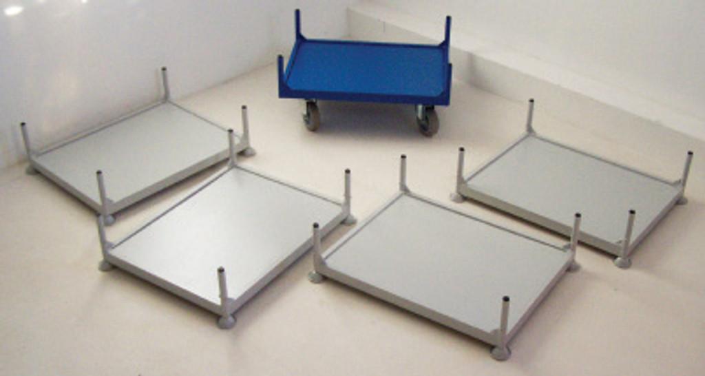 Stillage Trolley - Individual Shelves