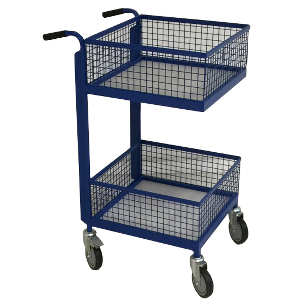 2 Tier Basket Trolley
