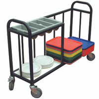 Cutlery Trolley with open sides