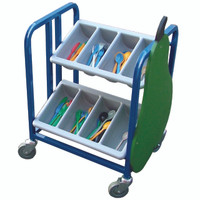 2 Tier Knife and Fork Trolley