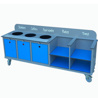 Secondary School Clearing Trolley