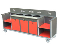 Secondary Aqua Smart  Clearing trolley (CTT10)