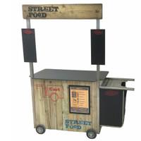 Street Food Cooking Trolley