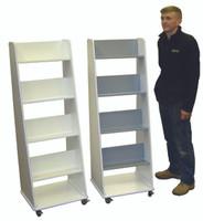 4 shelf book display