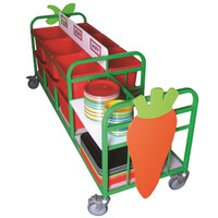 Double Sided Clearing Trolley, LARGE