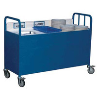 Metal Collection trolley (4SEC)