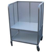 3 Sided 2 Shelf Trolley (FSKY5)