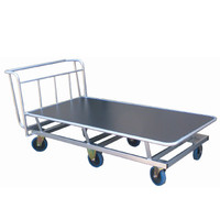 Large Raised Base Flat Bed Trolley (LMT6)