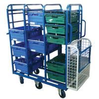 Aluminium Box Trolley (BXSC4)