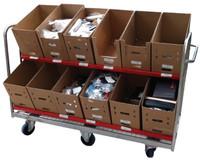 8 Tote Box Trolley (custom made) (CSST1)