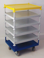 Stacking Stillage Trolley Bespoke Sizing - Base