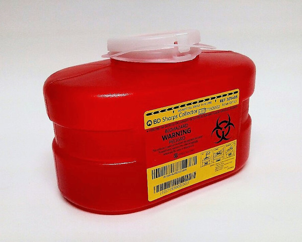 BD Multi-Use One-Piece Sharps Collector
