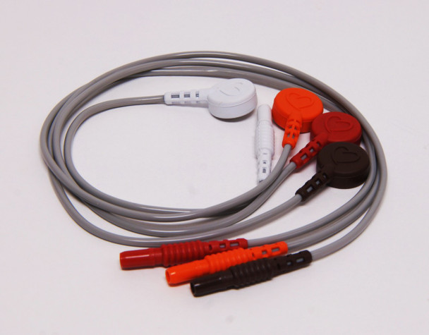 """14"""" Snap 4 Wire Lead Set for the Spacelabs ARIA"""