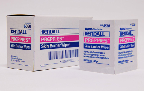 Kendall Barrier Wipes (1 Box)