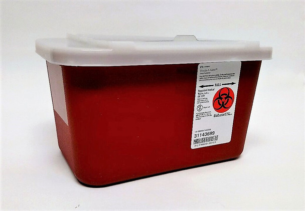 Kendall 1-Gallon Sharps-A-Gator Container