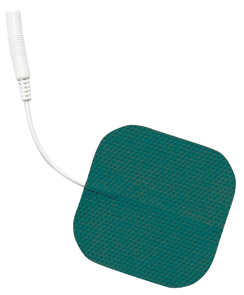 "Soft-Touch Carbon Electrodes Cloth Back (PMT Gel) - 2.0"" X 2.0"" - Qty: 10 Packs Of 4 Electrodes/Pack"