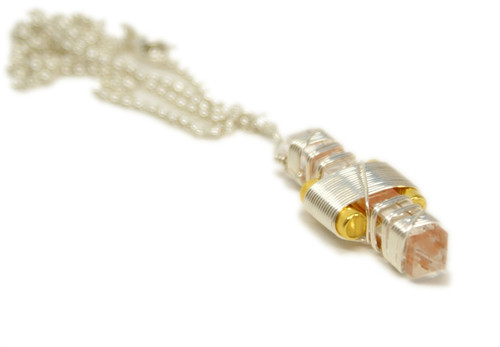 Buddha Maitreya Etheric Weaver Pendant, Silver