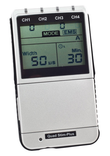 Quad Stim-Plus (4-Channel Digital TENS/EMS)