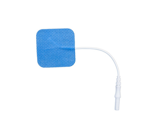 "Soft-Touch Carbon Electrodes Cloth Back (Tyco Gel)2.0"" X 2.0"" Qty: 10 Packs Of 4 Electrodes/Pack"