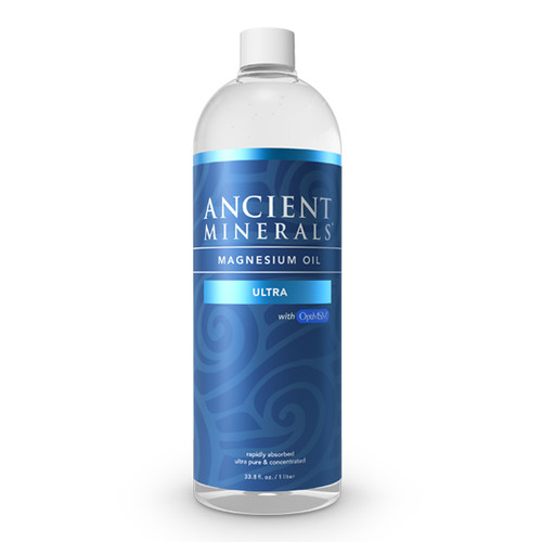 Ancient Minerals Magnesium Ultra Oil, 33.8 oz