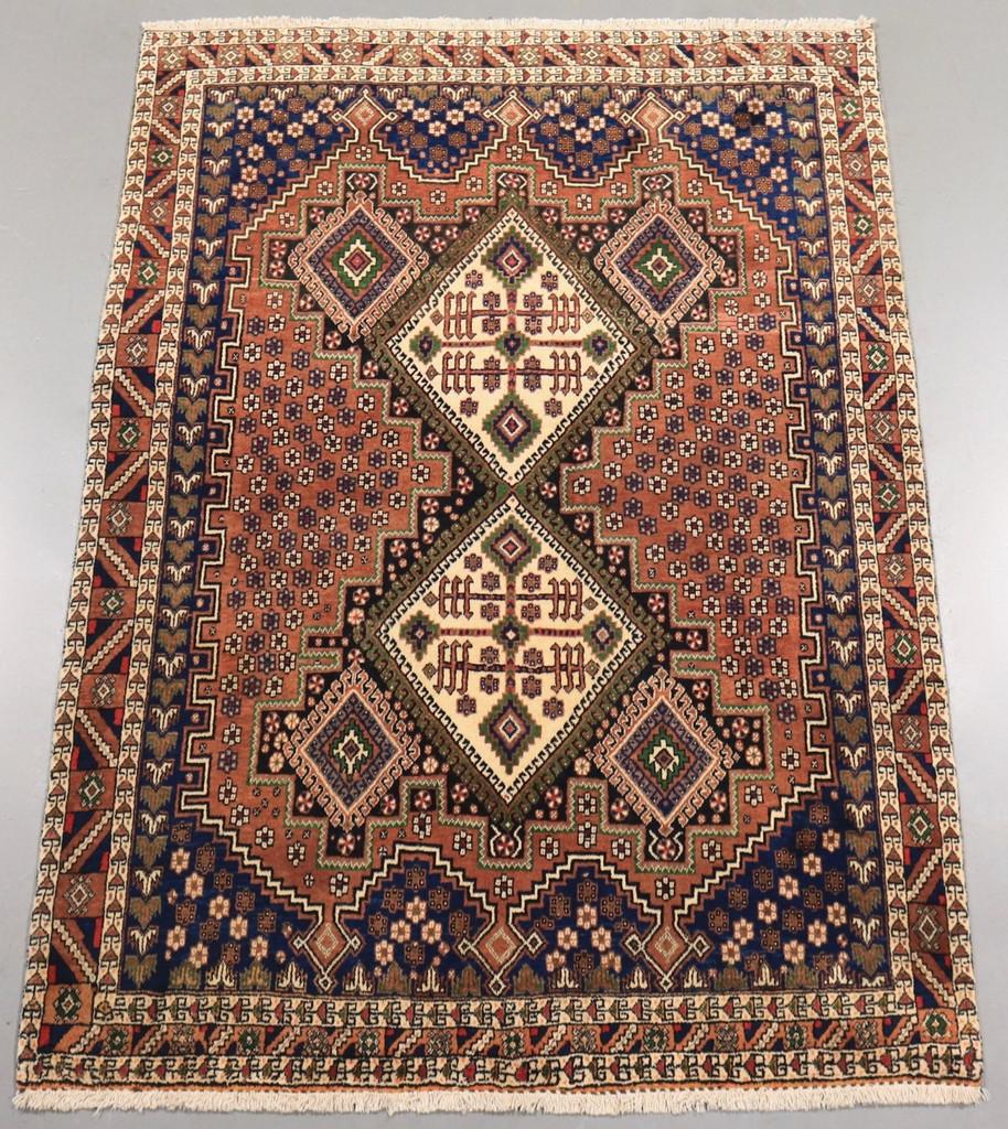 Vintage Persian Rugs: Afshar Vintage Persian Rug (Ref 178) 188x134cm