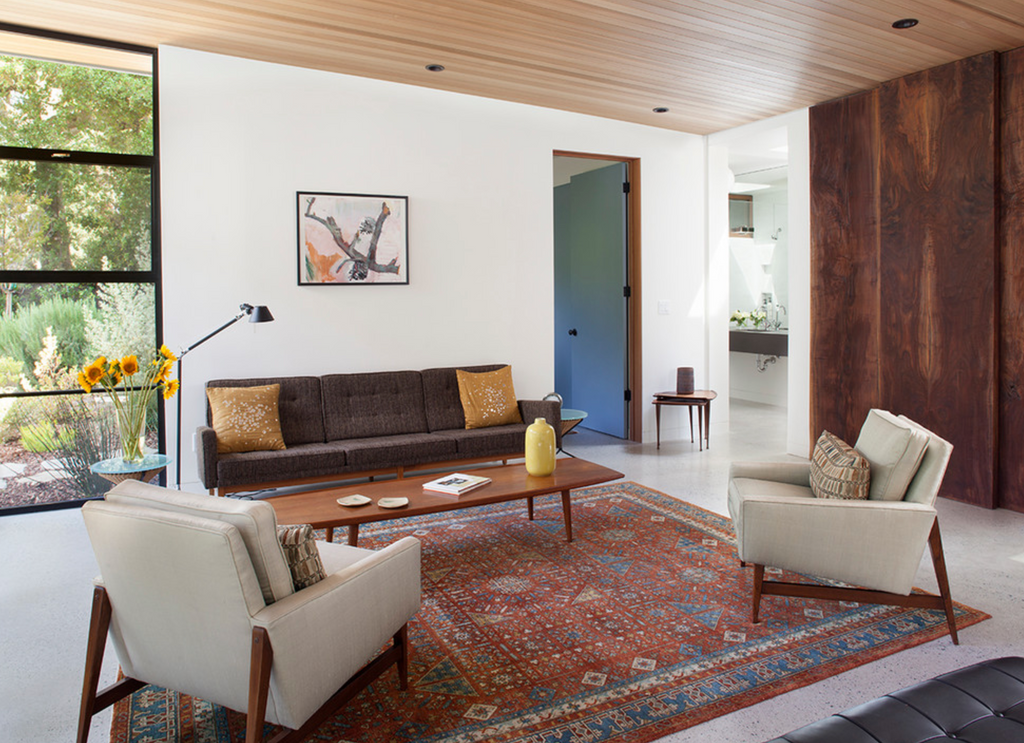 Pairing Persian Rugs With Contemporary Furniture