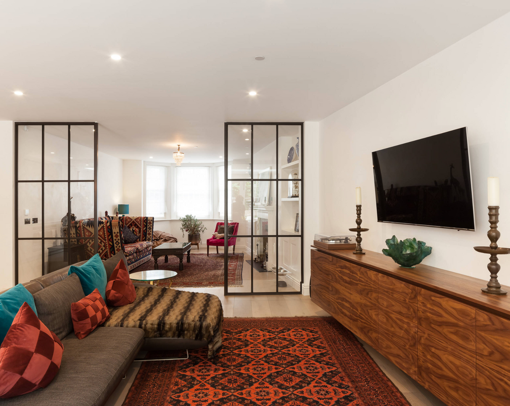 How to Pair Persian Rugs With Open Plan Living