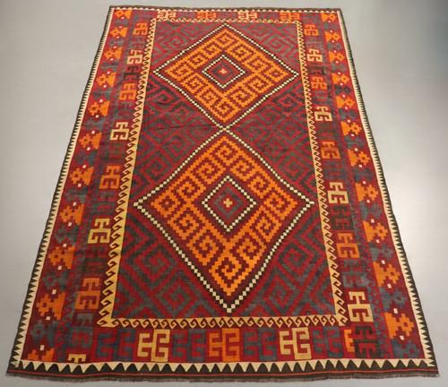 Vintage Kyber Mori Tribal Kilim (Ref 2522) 457x279cm