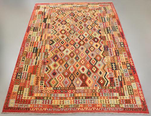 Veggie Dye Afghan Kilim (Ref 101368) 490x358cm