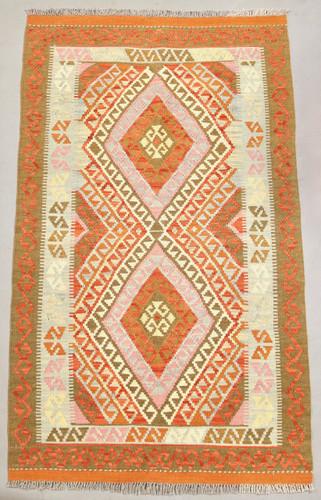 Veggie Dye Afghan Kilim (Ref 106718) 175x104cm