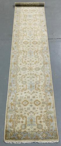Oushak Jaipur Soft Wool Rug (Ref 70) 478x79cm
