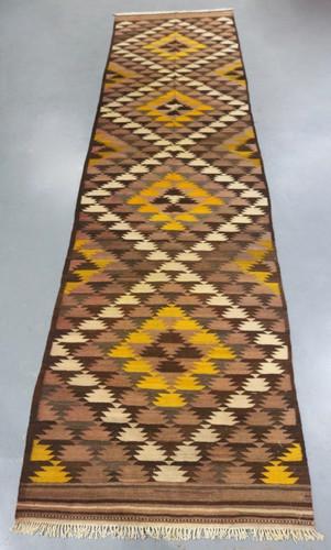 Vintage Kyber Mori Tribal Kilim (Ref 220) 549x137cm