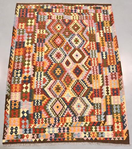 Veggie Dye Afghan Kilim (Ref 106) 252x185cm
