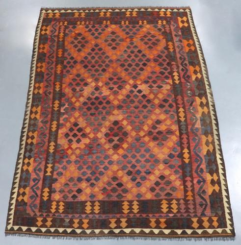 Kyber Mori Tribal Kilim (Ref 2400) 282x194cm