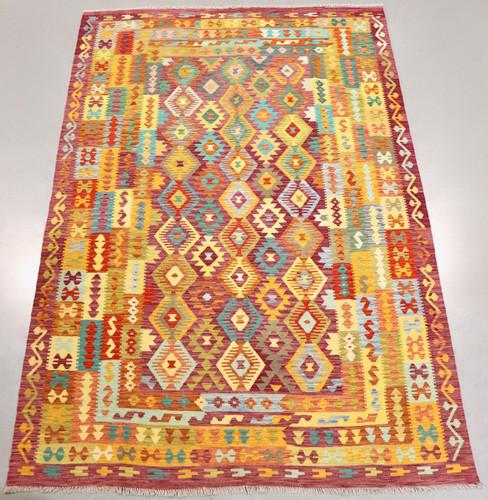 Veggie Dye Afghan Kilim (Ref 106613) 347x240cm