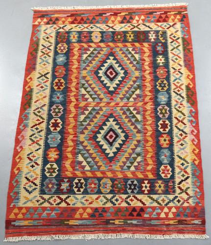 Veggie Dye Afghan Kilim (Ref 105228) 187x123cm
