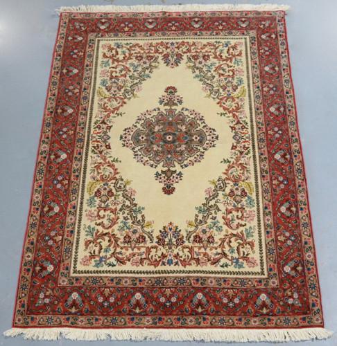 Qum Vintage Persian Rug (Ref 143) 205x140cm