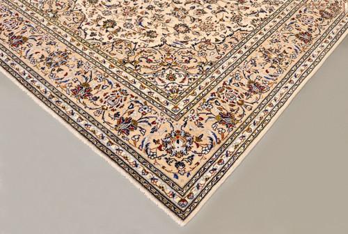 Kashan Beige Persian Rug (Ref 193) 303x201cm